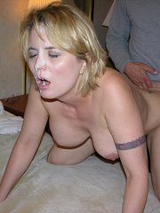 amateur wife first strap on dildoe fuck